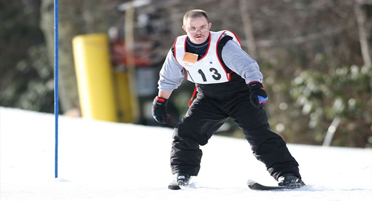 Alpine Skiing Sport Page Image