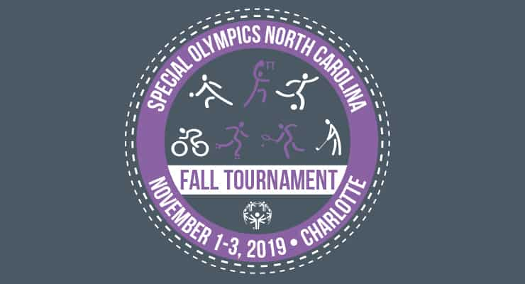 2019 Fall Tournament logo with Cycling